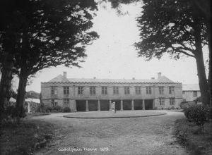 Godolphin House, Breage, Cornwall. Probably early 1900s