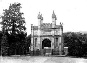 Grylls Memorial Gate, Helston, Cornwall. Early 1900s