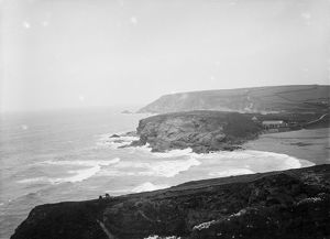 Gunwalloe Church Cove, Cornwall. Date unknown but probably early 1900s