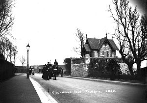 Gyllyngdune Road, Falmouth, Cornwall. Early 1900s