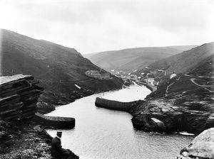 Harbour, Boscastle, Cornwall