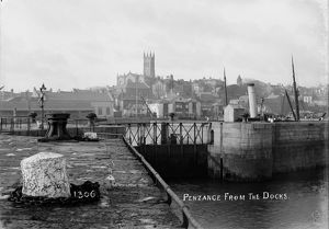 The Harbour, Penzance, Cornwall. 1900s