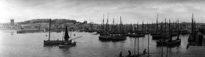 Harbour, St Ives, Cornwall. Early 1900s