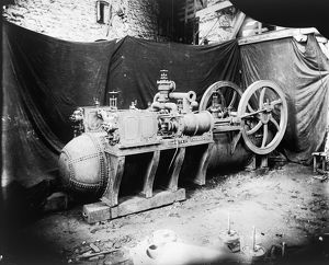 Harvey's Foundry, Hayle, Cornwall. Late 19th century