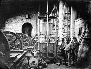 Harvey's Foundry, Hayle, Cornwall. Late 1850s