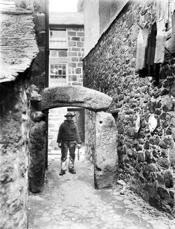 Hick's Arch, St Ives, Cornwall. 1904