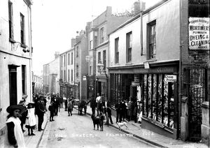 High Street, Falmouth, Cornwall. Early 1900s
