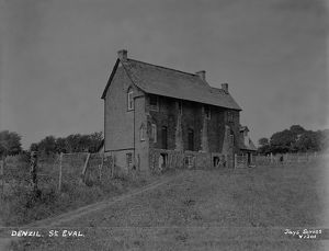 Higher Denzell Farmhouse, St Mawgan in Pydar, Cornwall. 16th July 1926