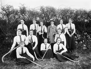 Hockey team, Cornwall. Date about 1900