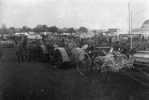 H.T.P. farm machinery stand, Royal Cornwall Show, Cornwall. 20th century