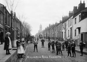 Killigrew Road, Falmouth, Cornwall. Early 1900s