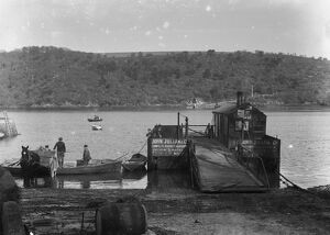 King Harry Ferry, Feock, Cornwall. After 1888