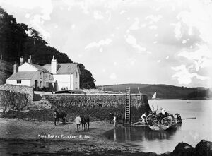 King Harry Passage, Feock, Cornwall. Before 1888