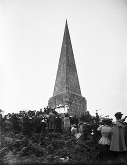 Knill Monument, St Ives, Cornwall. About 1920.