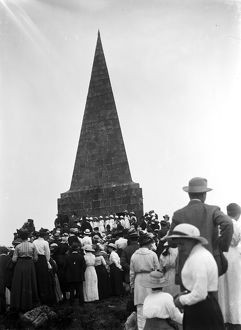 Knill Monument, St Ives, Cornwall. About 1920