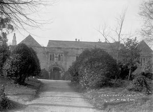 Lanherne Convent, St Mawgan in Pydar, Cornwall. Early 1900s