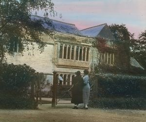 Lanherne Convent, St Mawgan in Pydar, Cornwall. Around 1925