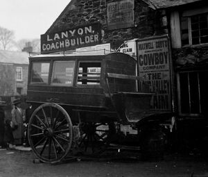 Lanyon Coach builders, Falmouth Road, Redruth, Cornwall. 1904