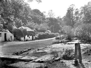 Lawry's Mill, Carnanton Woods, St Mawgan in Pydar, Cornwall. 1909