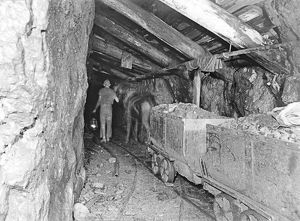 Levant Mine, St Just in Penwith, Cornwall. 11th July 1894