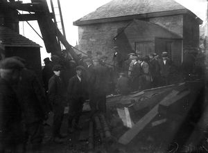 Levant Mine, St Just in Penwith, Cornwall. 1919