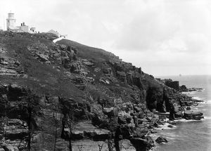 Lizard lighthouse, Landewednack, Cornwall. 1894