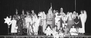Lostwithiel Pageant, Cornwall. December 1985