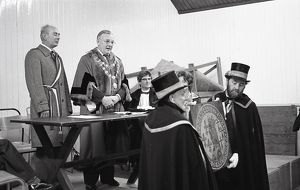 Lostwithiel Twinning Ceremony, Cornwall. October 1979