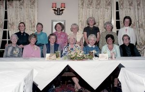 Lostwithiel Women's Institute 60th anniversary, Lostwithiel, Cornwall. May 1984