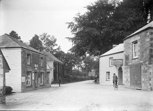Main Road, Ladock, Cornwall. Around 1917