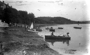 Malpas Ferry, Cornwall. Early 1900s