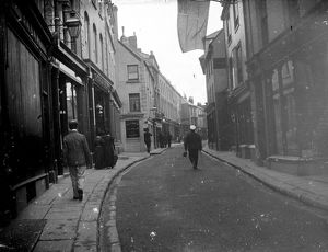 Market Street, Falmouth, Cornwall. Around 1910