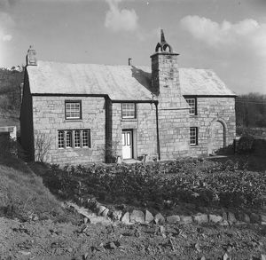Meledor Farmhouse, St Stephen in Brannel, Cornwall. 1962