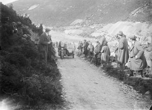 Motorcycle scramble, St Agnes, Cornwall. 1920s