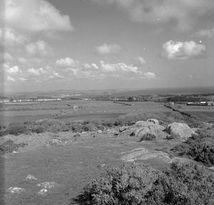 Mounts Bay from Trengwainton, Madron, Cornwall. 1969