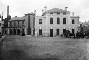 Municipal Buildings, The Moor, Falmouth, Cornwall. Around 1910
