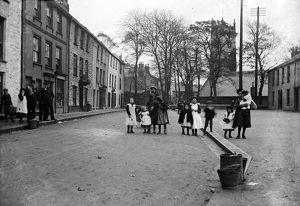New Street, Falmouth, Cornwall. Early 1900s