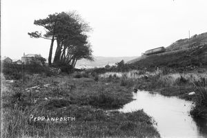 Newquay to Chacewater branch line, Cornwall. Early 1900s