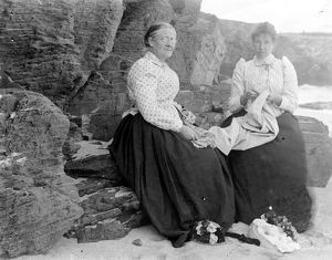 Padstow area or St Merryn, Cornwall. Early 1900s