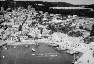 Padstow Harbour, Cornwall. Around 1930s
