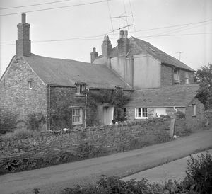 Pansy Cottage and Rose Cottage, Trevalga, Cornwall. 1966