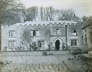 The Parsonage at Withiel, Cornwall. Early 1900s