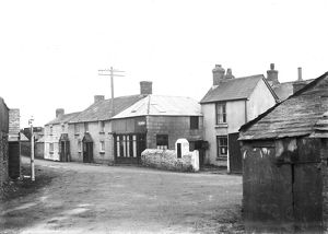 Penrose village, St Ervan, Cornwall. Probably 1920s