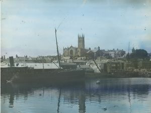 Penzance Harbour, Cornwall. 1920s