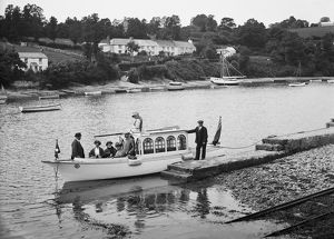 Pill Creek, Feock, Cornwall. 8 July 1912