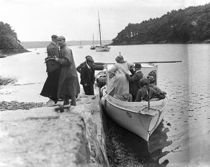 Pill Creek, Feock, Cornwall. 8th July 1912