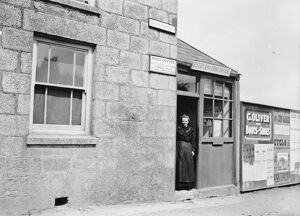 Post Office, St Stephen in Brannel, Cornwall. Early 1900s