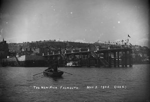 The Prince of Wales Pier, Falmouth, Cornwall