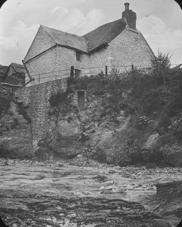 Prussia Cove, St Hilary, Cornwall. 1890s