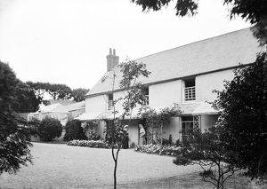 The Rectory, Church Cove, Landewednack, Cornwall. 1897